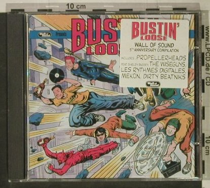 V.A.Bustin'Loose: 13 Tr., 5th annyv., Wall of Sound(), EU, 1999 - CD - 82791 - 7,50 Euro