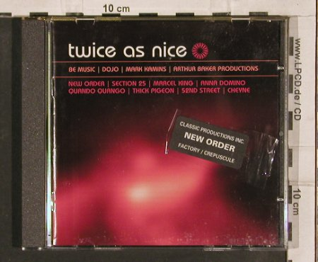 V.A.Twice as nice: Be Music,Baker,Kamins(82-86), LTM(2398), UK, 2004 - CD - 82792 - 7,50 Euro