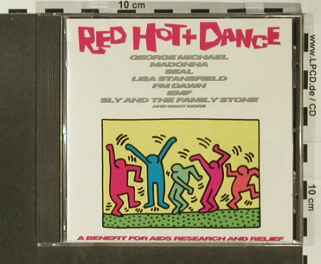 V.A.Red Hot And Dance: 13 Tr., Epic(), A, 1992 - CD - 82795 - 5,00 Euro