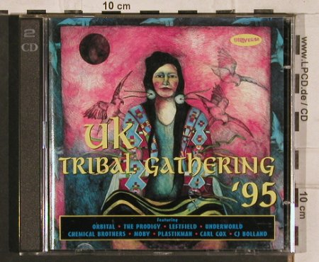 V.A.The Tribal Gathering 95: Orbital...CJ Bolland, 17 Tr., Universe(828 452-2), D, 1995 - 2CD - 82797 - 10,00 Euro