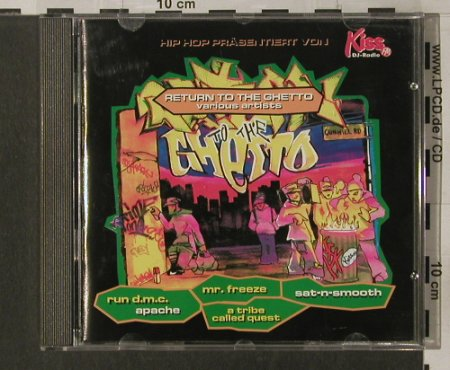 V.A.Return of the Ghetto: Hip Hop präsentiert v.Kiss FM, SPV(), D, 1994 - CD - 82804 - 7,50 Euro