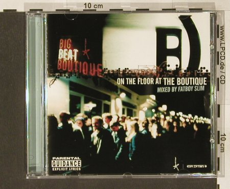 V.A.On The Floor At The Boutique: mixed by Fatboy Slim, Skint(491338 2), A, 1999 - CD - 82809 - 5,00 Euro