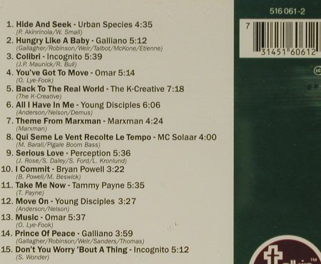 V.A.Talkin'Loud Two: 15 Tr. Galliano,Incognito.., TalkinLoud(516 061), D, 1993 - CD - 82811 - 5,00 Euro