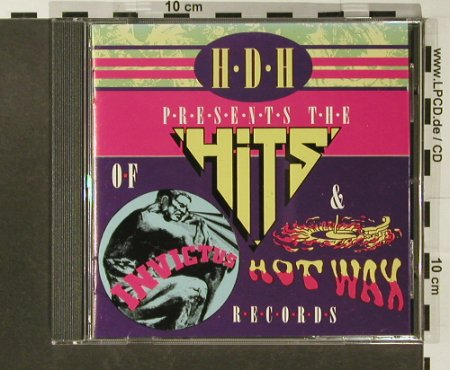 V.A.HDH pres. The Hits of Hot Wax: & Invictus Record,21Tr., Demon H-D-H(), UK, 1987 - CD - 82813 - 7,50 Euro