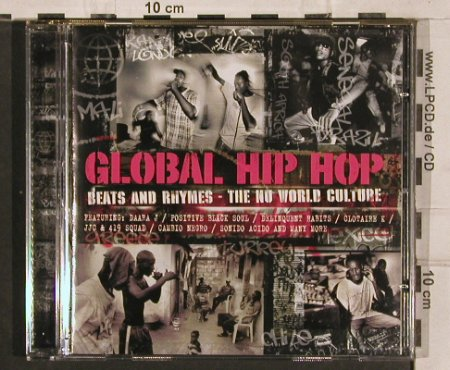 V.A.Global Hip Hop: Beats and Rhymes-The Nu World.., UnionSq. / Manteca(), EU, 2004 - CD - 82823 - 5,00 Euro