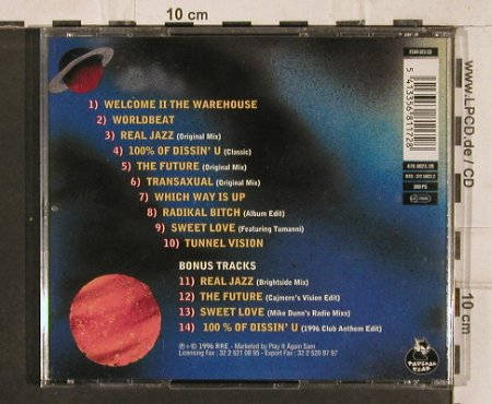Armando: One World One Future, RRE(), B, 1996 - CD - 82869 - 7,50 Euro