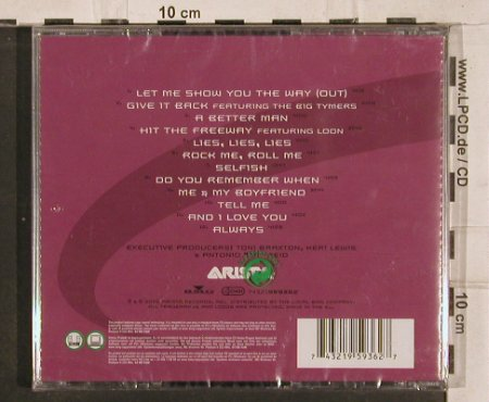 Braxton,Tony: More Than A Woman, FS-New/Neu, Arista(), EU, 2002 - CD - 82870 - 9,00 Euro