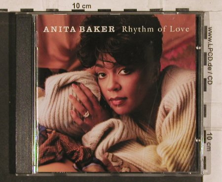 Baker,Anita: Rhythm Of Love, Elektra(), D, 1994 - CD - 82871 - 5,00 Euro