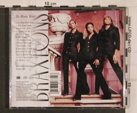 Braxtons: So Many Ways, Atlantic(), D, 1996 - CD - 82872 - 5,00 Euro