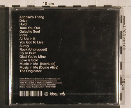 DJ Spinna: Here to There, FS-New, BBE(RR0012 CD), F, 2002 - CD - 82881 - 10,00 Euro