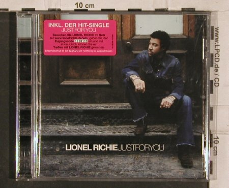 Richie,Lionel: Just For You, Isl.(), EU, 04 - CD - 82923 - 7,50 Euro