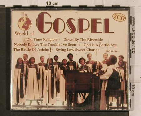 V.A.The World Of Gospel: 37 Tr.V.A.&Riverside Gospel Group, ZYX(), D, 1996 - 2CD - 82929 - 5,00 Euro