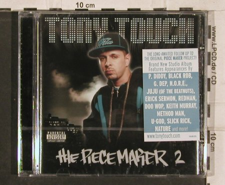 Tony Touch: The Piecemaker 2, FS-New, Touch E.(148.6801.020), , 2000 - CD - 82934 - 10,00 Euro