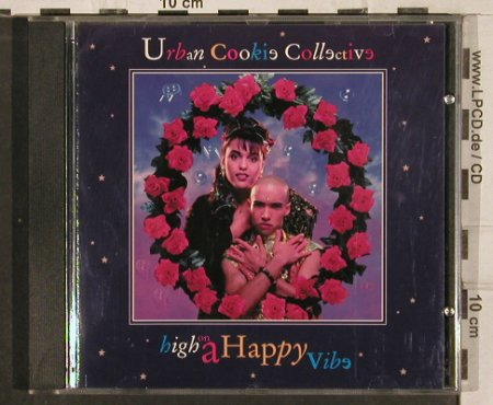 Urban Cookie Collective: High On A Happy Vibe, Pulse-8(), NL, 1994 - CD - 82940 - 7,50 Euro