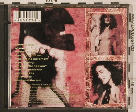 Wendy & Lisa: Eroica, Virgin(), US, co, 1990 - CD - 82942 - 5,00 Euro