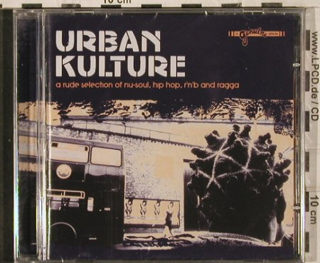 V.A.Urban Kulture: 12 Tr.,nu-soul,hip hop r'n'b,ragga, Genuine(), UK, 2003 - CD - 82954 - 7,50 Euro