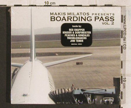 V.A.Boarding Pass Vol.2: Makis Milatos pres., FS-New, Erosmusic(), EU, 2002 - CD - 83446 - 7,50 Euro