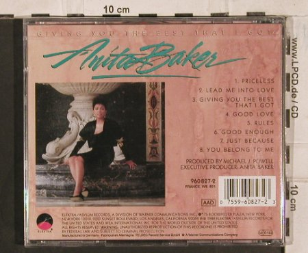 Baker,Anita: Giving You  The Best That I Got, Elektra(), D, FS-New, 1988 - CD - 83715 - 10,00 Euro