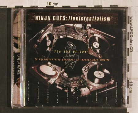 V.A.Ninja Cuts: Flexistentialsm, 24Tr.,Joy of Dex, Ninja Tune(zen cd 22), ,  - 2CD - 83786 - 11,50 Euro