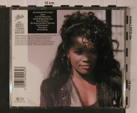 McCloud,Nicole: Jam Packed, vg+/m-, Epic(460043 2), NL, 1988 - CD - 84285 - 20,00 Euro