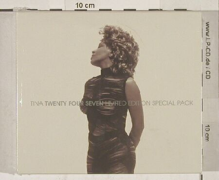 Turner,Tina: Twenty Four Seven,Lim.Ed.sp.Pack, Parlophone(), EU,FS-New, 00 - 2CD - 90132 - 10,00 Euro
