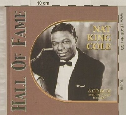 Cole,Nat King: Hall Of Fame, Box, Booklet, Past Perfect(), CZ, 2002 - 5CD - 90157 - 7,50 Euro