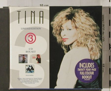 "Turner,Tina: Tina Lim.Ed. 3, Box Set+CD5"",m-/vg+, EMI(), , 1990 - 3CD - 90299 - 11,50 Euro"