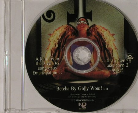 Prince: Betcha by golly Wow!,1Tr.Promo, NPG(), NL,NoBookl, 1996 - CD5inch - 90461 - 5,00 Euro