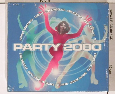 V.A.Party 2000: Patrik Hernandez..Three Degrees, Sony(SMM491763 9),  FS-New, 1999 - 3CD - 90720 - 7,50 Euro