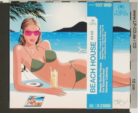 V.A.Beach House 04.02: Deeply SoulfulHouse,Digi, hedKandi(hedk027), UK, 2002 - 2CD - 90722 - 10,00 Euro