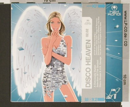 V.A.Disco Heaven 02.02: 22 Tr., A Deliciously Stylish, Digi, Hed Kandi(HEDK025), EC, 2002 - 2CD - 90724 - 10,00 Euro
