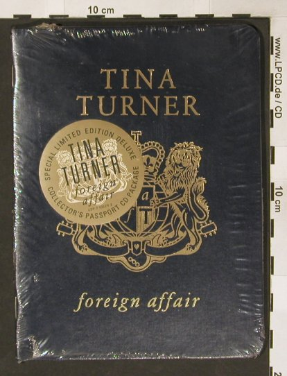 Turner,Tina: Foreign Affair,Lim.Ed.Deluxe,FS-New, Capitol(CDP 793129 2), US, 1989 - CD - 91187 - 15,00 Euro