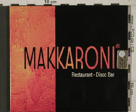 V.A.Makkaroni: Restaurant - Disco Bar,Digi, FS-New, Shantal(SH01/C), , 2002 - CD - 91207 - 7,50 Euro