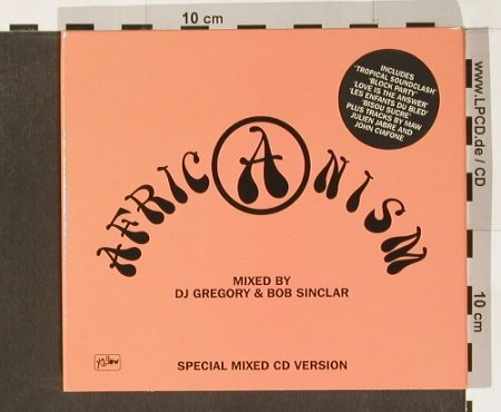 V.A.Africanism: Mixed by DJ Gregory&Bob Sinclair, Defected(Africa01CD), UK, 02 - 2CD - 91297 - 12,50 Euro
