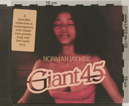 V.A.Giant 45: Norman Jay MBE, React(), UK, 2004 - 2CD - 91504 - 10,00 Euro