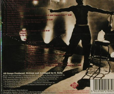 R.Kelly: R., Digi, FS-New, Jive(), EU, 98 - 2CD - 91548 - 12,50 Euro
