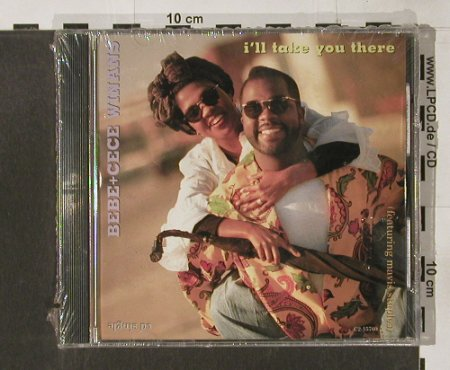 Winans,Bebe & Cece: I'll take you there,10 Tr.,, FS-New, Capitol(), US, co, 1991 - CD5inch - 91597 - 5,00 Euro