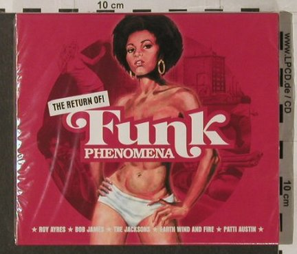 V.A.Funk Phenomena: The Return of!, 13 Tr., FS-New, Logic(EVScd41), EU, 2003 - CD - 91861 - 7,50 Euro