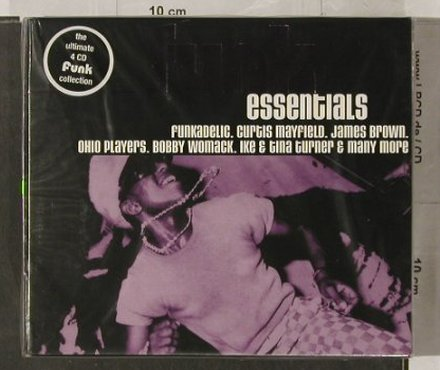 V.A.Funk Essentials: The Ultimate Funk Collection,BoxSet, Beechwood(), FS-New, 2000 - 4CD - 91930 - 17,50 Euro