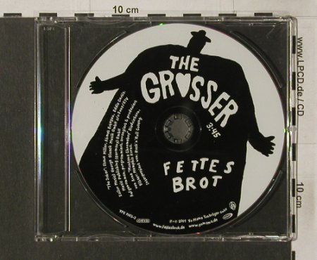 Fettes Brot: The Gr*sser,1Tr. no Cover, Yo Mama(YPS 7052-3), D, 2001 - CD5inch - 92082 - 4,00 Euro
