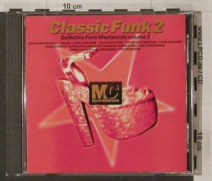 V.A.Classic Funk Mastercuts: Volume 2, Beechwood Music Ltd.(CUTScd 14), UK, 1993 - CD - 92083 - 5,00 Euro