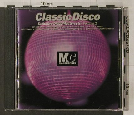 V.A.Classic Disco: Vol.1, Mastercuts(CUTScd 25), UK, 1995 - CD - 92094 - 10,00 Euro