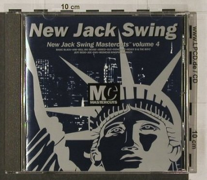 V.A.New Jack Swing: Vol.4, Mastercuts(CUTScd 27), UK, 1995 - CD - 92097 - 10,00 Euro
