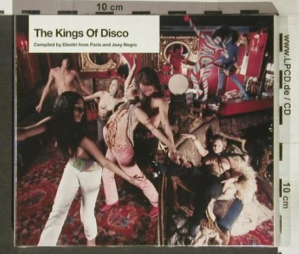 V.A.The Kings of Disco-Compl.: Dimitri from Paris/JoeyNegro,FS-new, bbe(), F, 2004 - 2CD - 92188 - 11,50 Euro