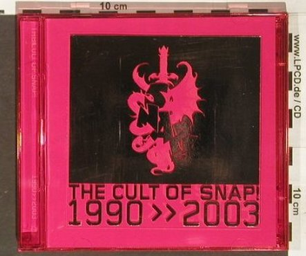 Snap: The Cult of Snap !,1990-2003, Anzilotti&(), D, 03 - 2CD - 92249 - 11,50 Euro