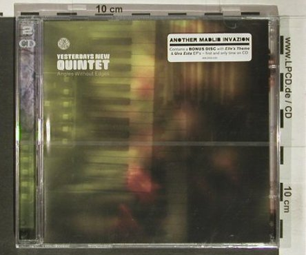 Yesterdays New Quintet: Angles Without Edges, StoneThrow(), , 2001 - 2CD - 92336 - 10,00 Euro