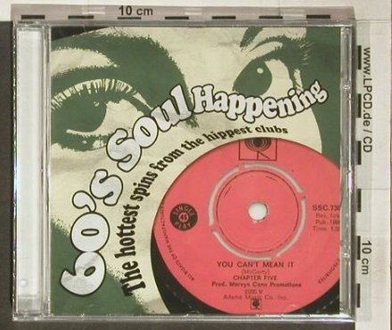 V.A.60'S Soul Happening: The Hottest Spins... FS-New, Bestway(), UK, 2004 - CD - 92342 - 10,00 Euro