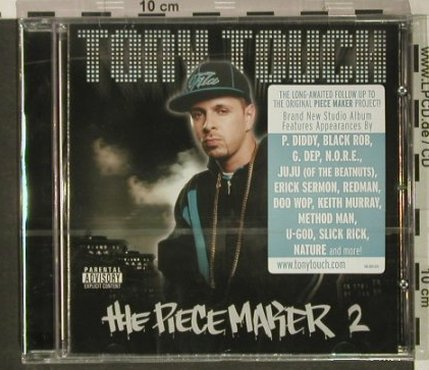 Tony Touch: The Piecemaker 2, FS-New, Touch E.(148.6801.020), , 2000 - CD - 92408 - 7,50 Euro