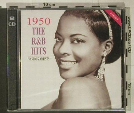 V.A.1950 The R&B Hits: 48 Tr., FS-New, Indigo(), UK, 2001 - 2CD - 92443 - 10,00 Euro