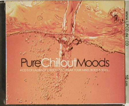 V.A.Pure Chillout Moods: Laidback Grooves to Relax.., FS-New, Beechwood(), UK, Box, 2003 - 4CD - 92971 - 10,00 Euro